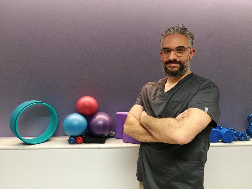 Γιάννης Βασιλογεώργης - Φυσικοθεραπευτής Physiomotive