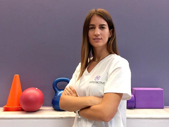Χριστίνα Νταχρή - Φυσικοθεραπευτής Physiomotive