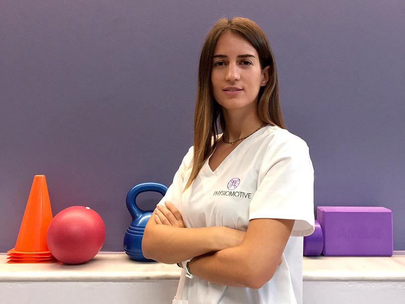 Christina Dahri - Physiomotive Physiotherapist